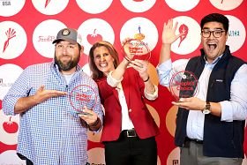 FoodBytes! Chicago 2019 Winners Showcase Upcycling Dairy Waste, Sustainable Salmon & Cactus-Based Foods